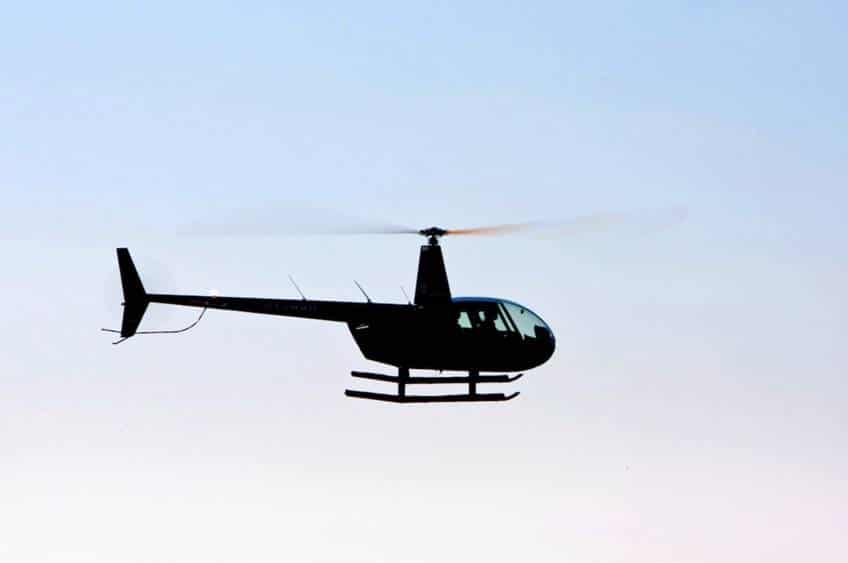 Privat helikoptertur med HeliCompany