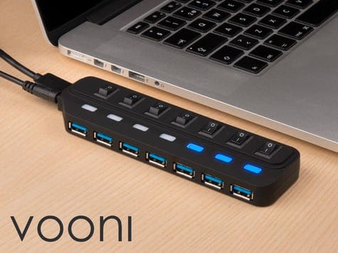 Vooni® 7-port USB-hub