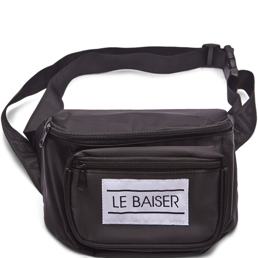 Le Baiser Hip Bag | Sort