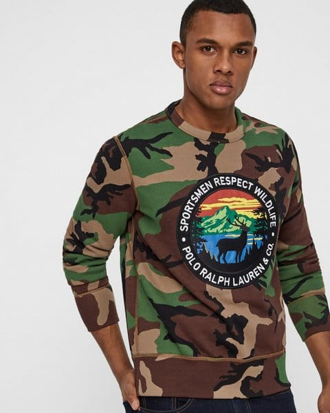 Polo Ralph Lauren sweatshirt - Regular fit - Camouflage