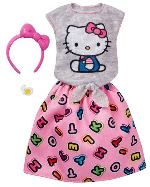 Barbie Hello Kitty Outfit lyserød