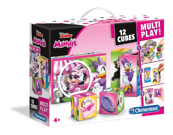 Minnie Mouse Multi Play Kuber