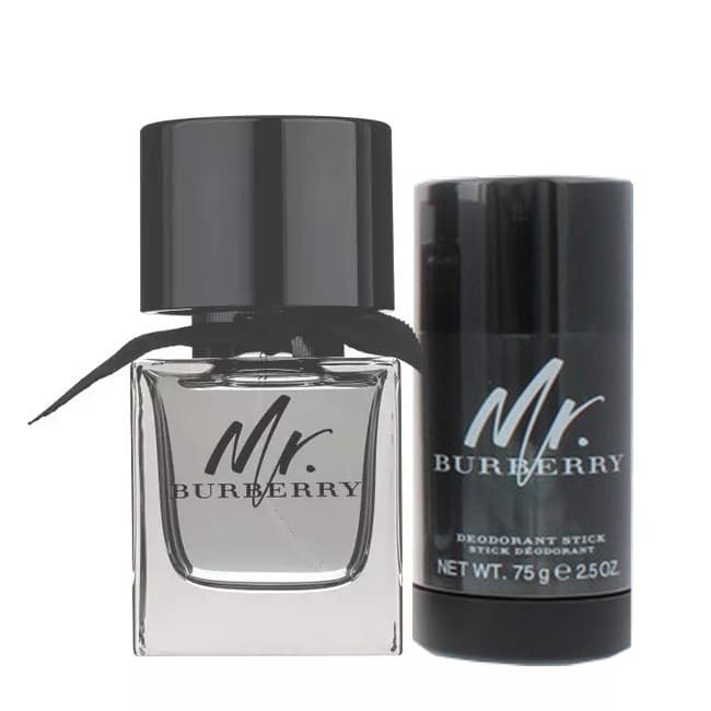 BURBERRY - MR BURBERRY SÆT - 100 ML EDT - DEODORANT STICK
