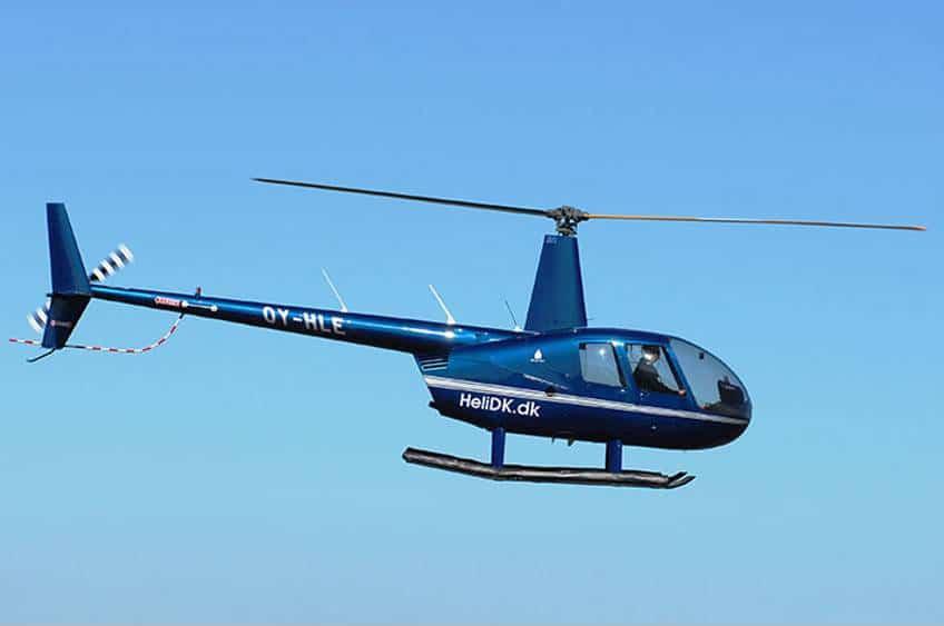 Privat helikoptertur over København med Danish Fly