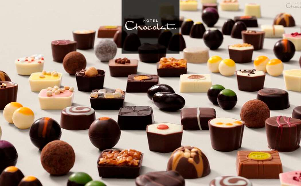 HOTEL CHOCOLAT FOR 2 + GOODIE BAG