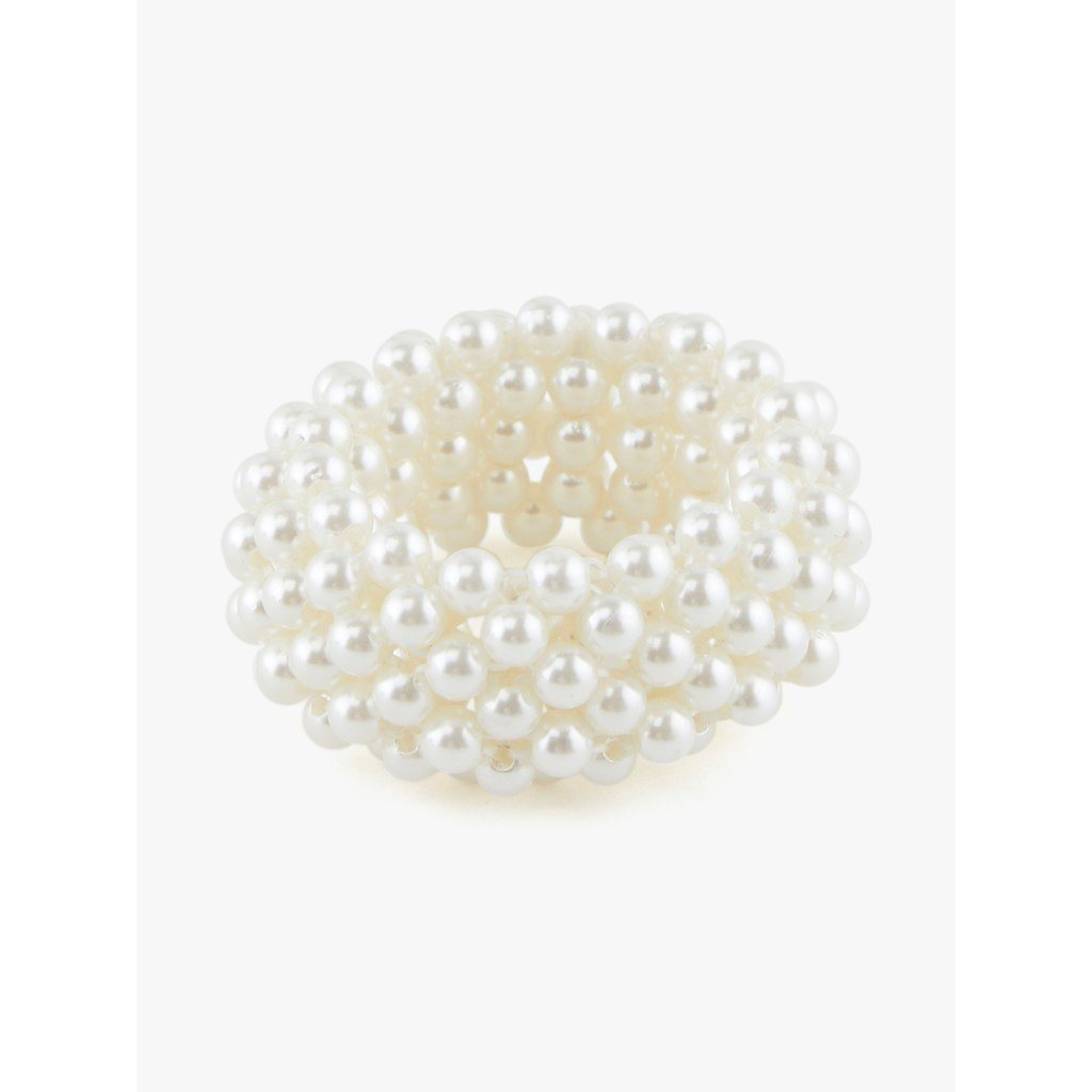PIECES - Helena Hair Elastic - Bright White