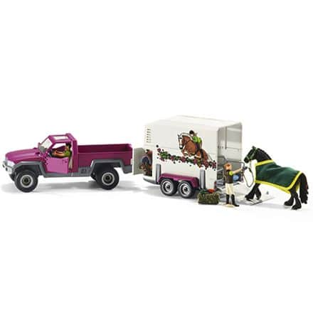 Schleich pick-up med hestetrailer