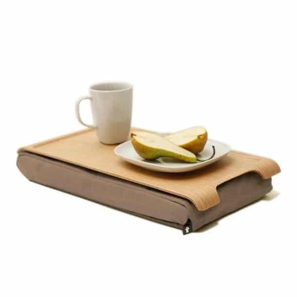 Laptop tray mini - natur/sand