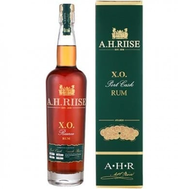 A.H. RIISE XO RESERVE PORT CASK RUM