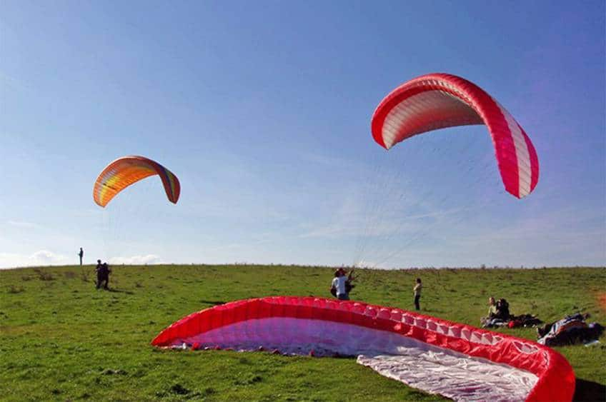 Prøv Paragliding