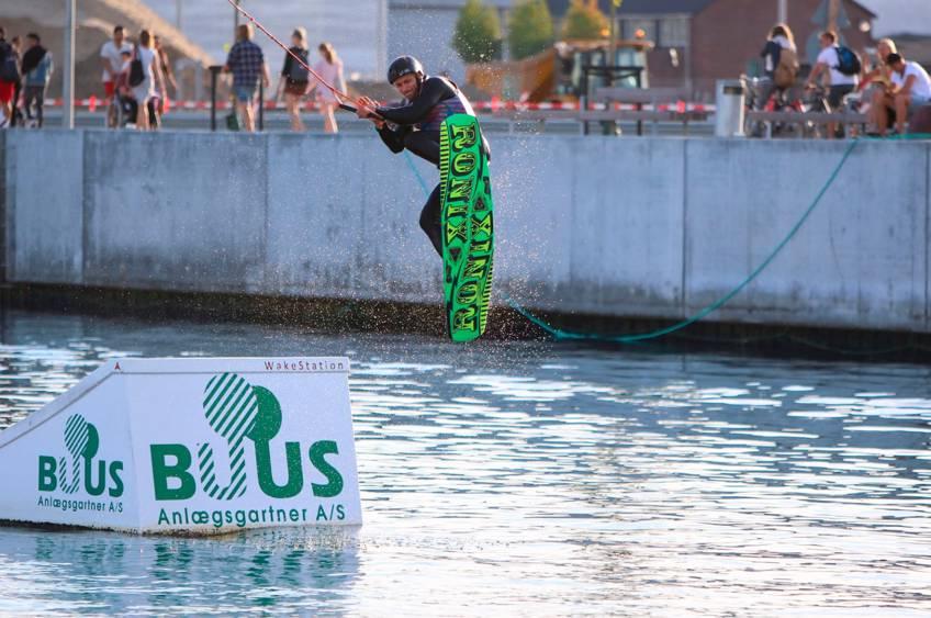 Prøv wakeboard på Aarhus Ø