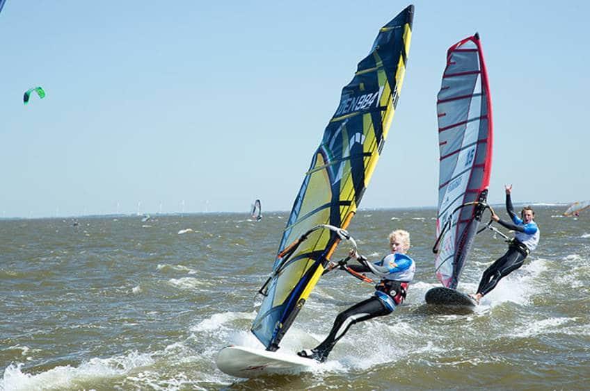 Prøv windsurfing